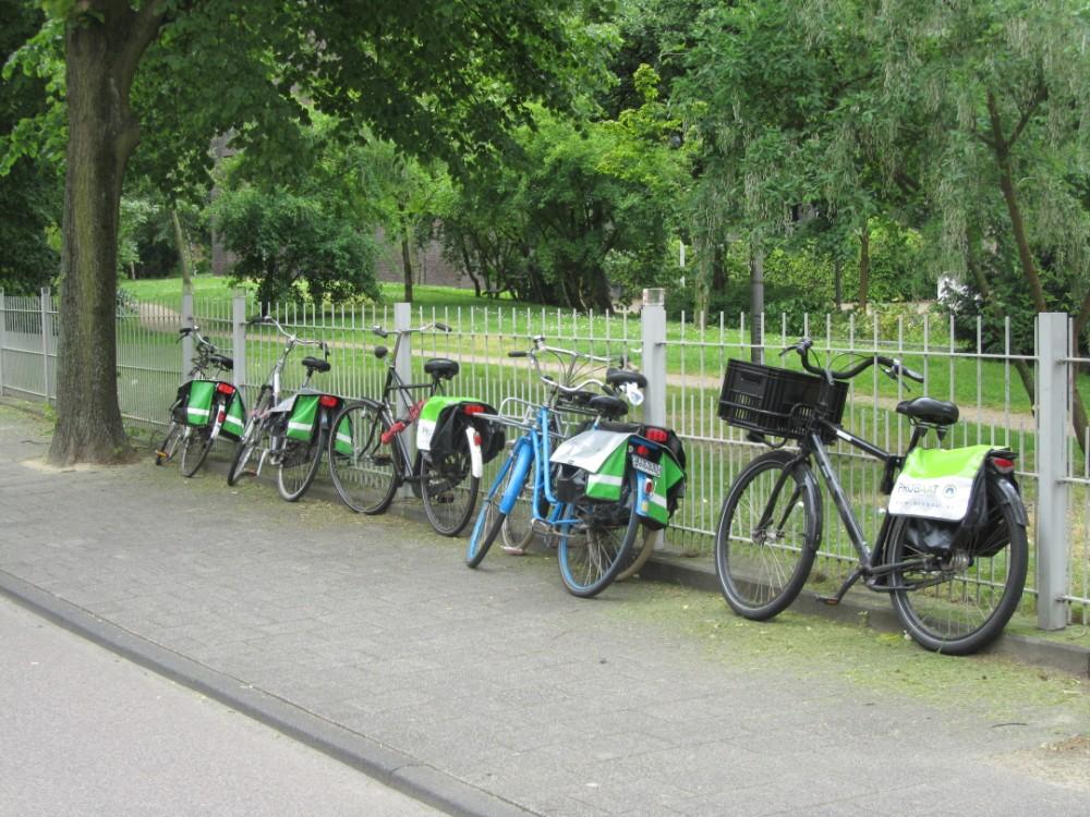 Probaat fietsenpark