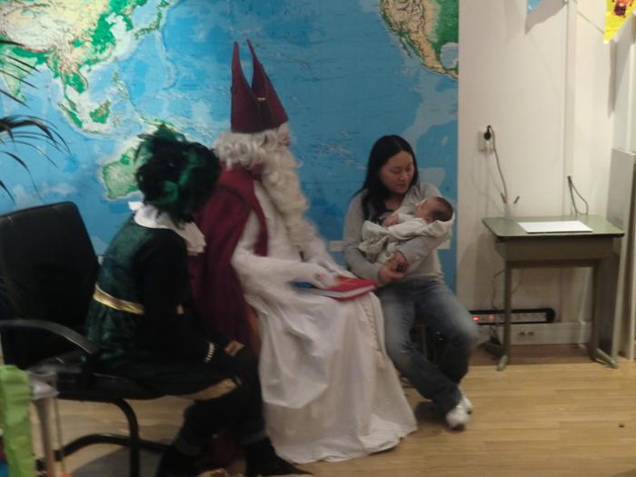 Sinterklaas bij Probaat!