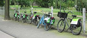 Geen leasewagen- maar een fietsenpark