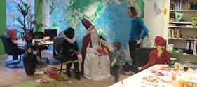 Sinterklaas bij PROBAAT